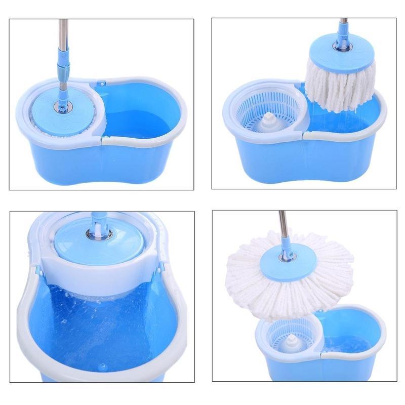 set de curățenie cu mop și găleată